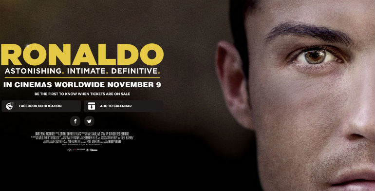ronaldo cristiano documentary images 2015 soccer
