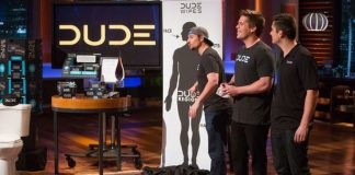 shark tank 704 mark cuban gets wet for dude wipes
