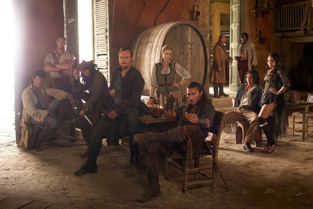 starz black sails season 2 blu ray box set 2015 images