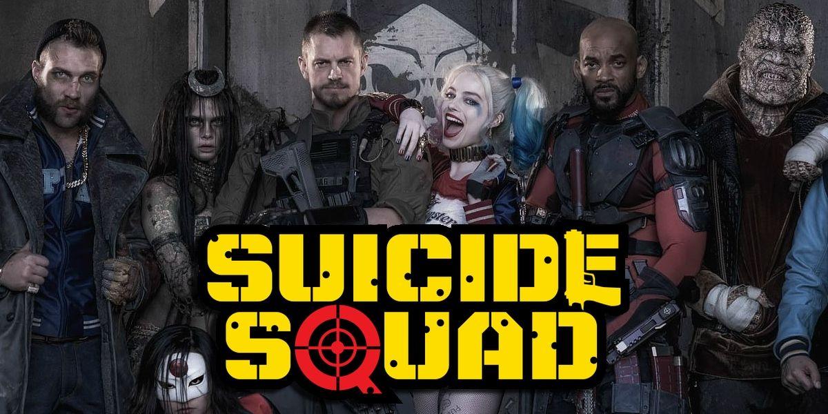 suicide squad poster 2015