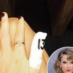 taylor swift finger 2015 gossip