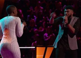 the voice 906 battle begins mark hood vs celest belton 2015 images