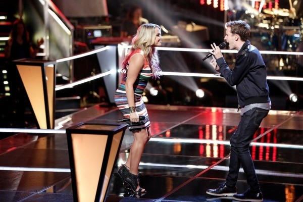the voice 908 pharrel williams evan riley biederer 2015
