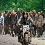 walking dead 601 daryl leading walkers 2015