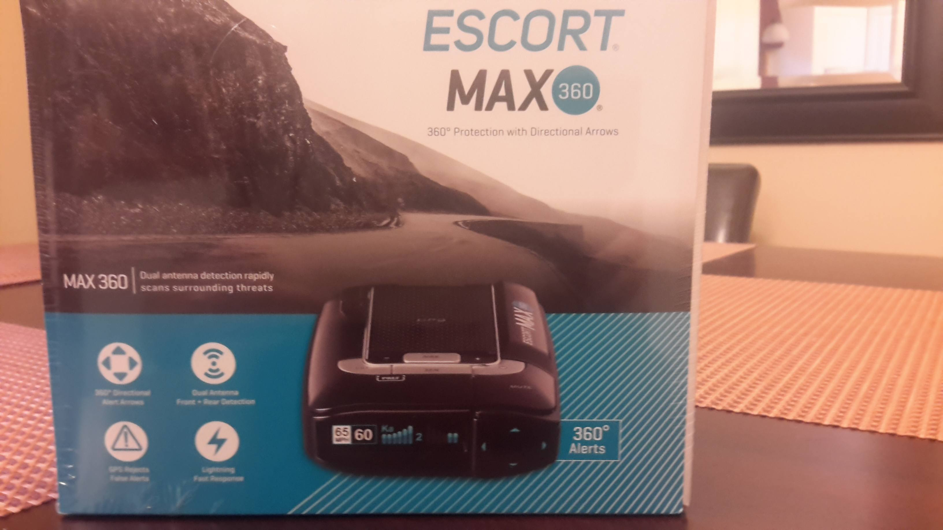escort max 360 package