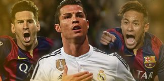 Ballon dOr 2015 Cristiano Ronaldo, Lionel Messi Neymar soccer images