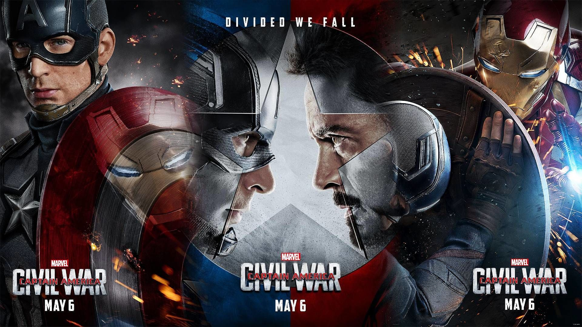 Captain America Civil War Latest Trailer Charges 2015 images