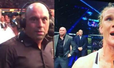 Dana White and Joe Rogan Breakdown Ronda Rousey Loss 2015 ufc images