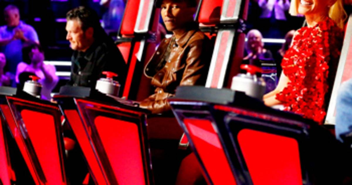 The Voice'911 Pharrell's Team Not 2015 images