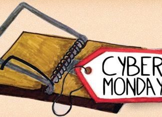 cyber monday protection tips 2015 images