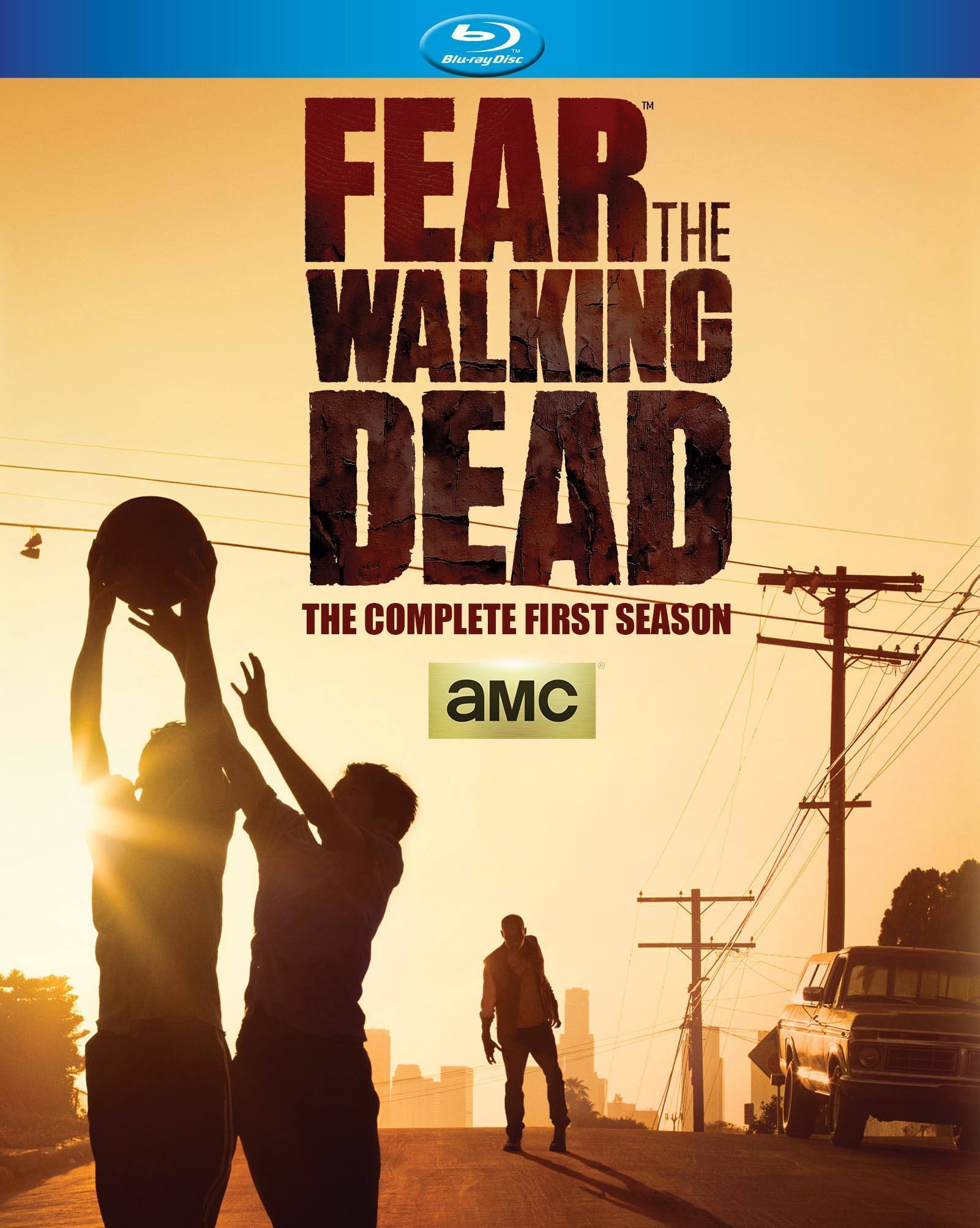fear the walking dead blu ray season 1 2015