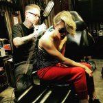 kaley cuoco new tattoo 2015 gossip