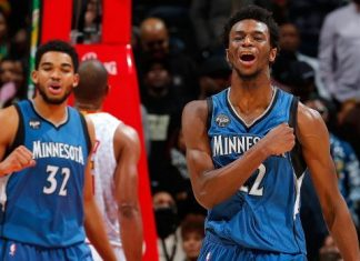 karl anthony towns andrew wiggins make timberwolves relevant again 2015 nfl