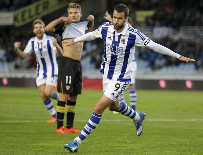 la liga week 12 soccer review 2015 real sociedad images