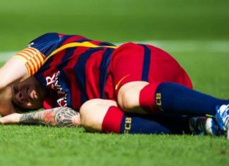 lionel messi unlikely to be fit for el clasico 2015 soccer images