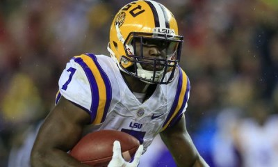 ncaa has LSU Investigating Leonard Fournette's Family Business 2015 images
