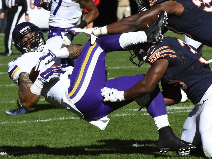 nfl week indepth review 2015 vikings vs bears