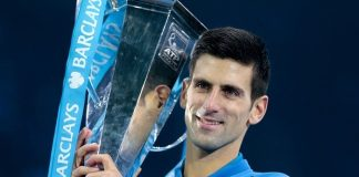 novak djokovic ends near perfect year with ATP title 2015 images