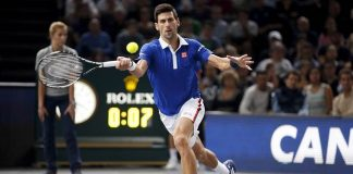 novak djokovic knocks andy murray out of paris masters 2015 images