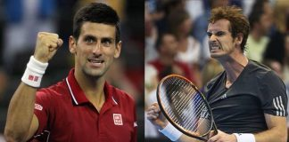 novak djokovic takes on andy murray paris masters 2015 tennis