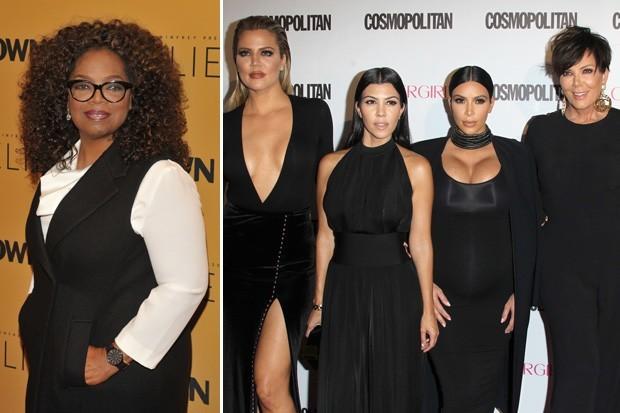 oprah up on kardashians after rebel diss 2015 gossip