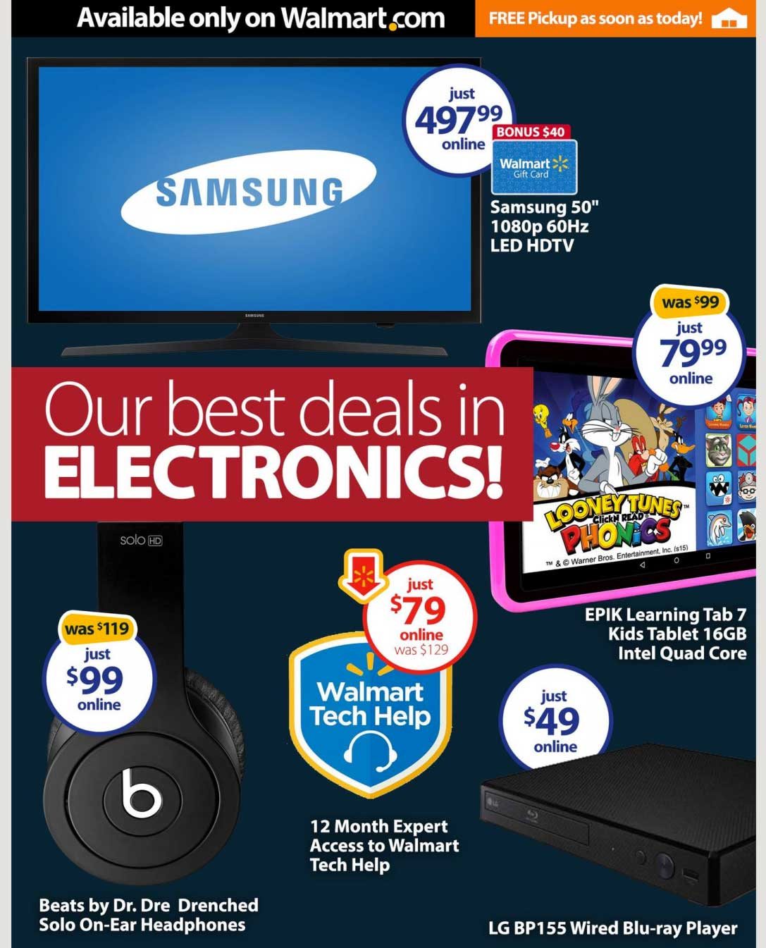 Cyber Monday Week Hottest Walmart Deals 2015 tech images