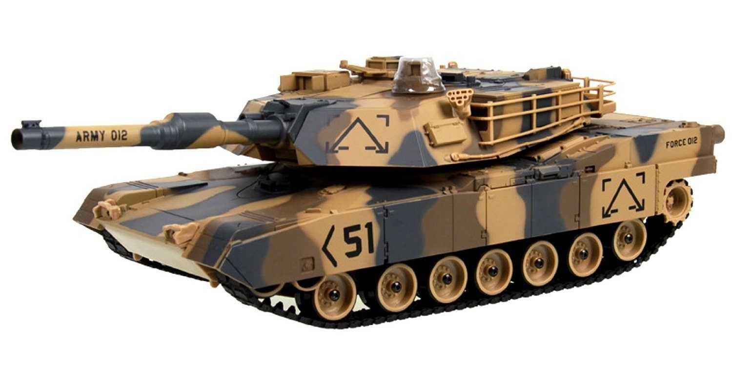 2015 Best RC Toys M1A2 Abrams USA Remote Control Battle Tank images