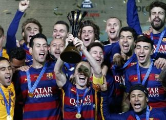barcelona crowned club world cup champions 2015 images