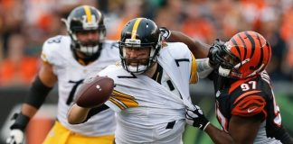 Ben Roethlisberger pittsburgh steelers back in super bowl contention 2015 images