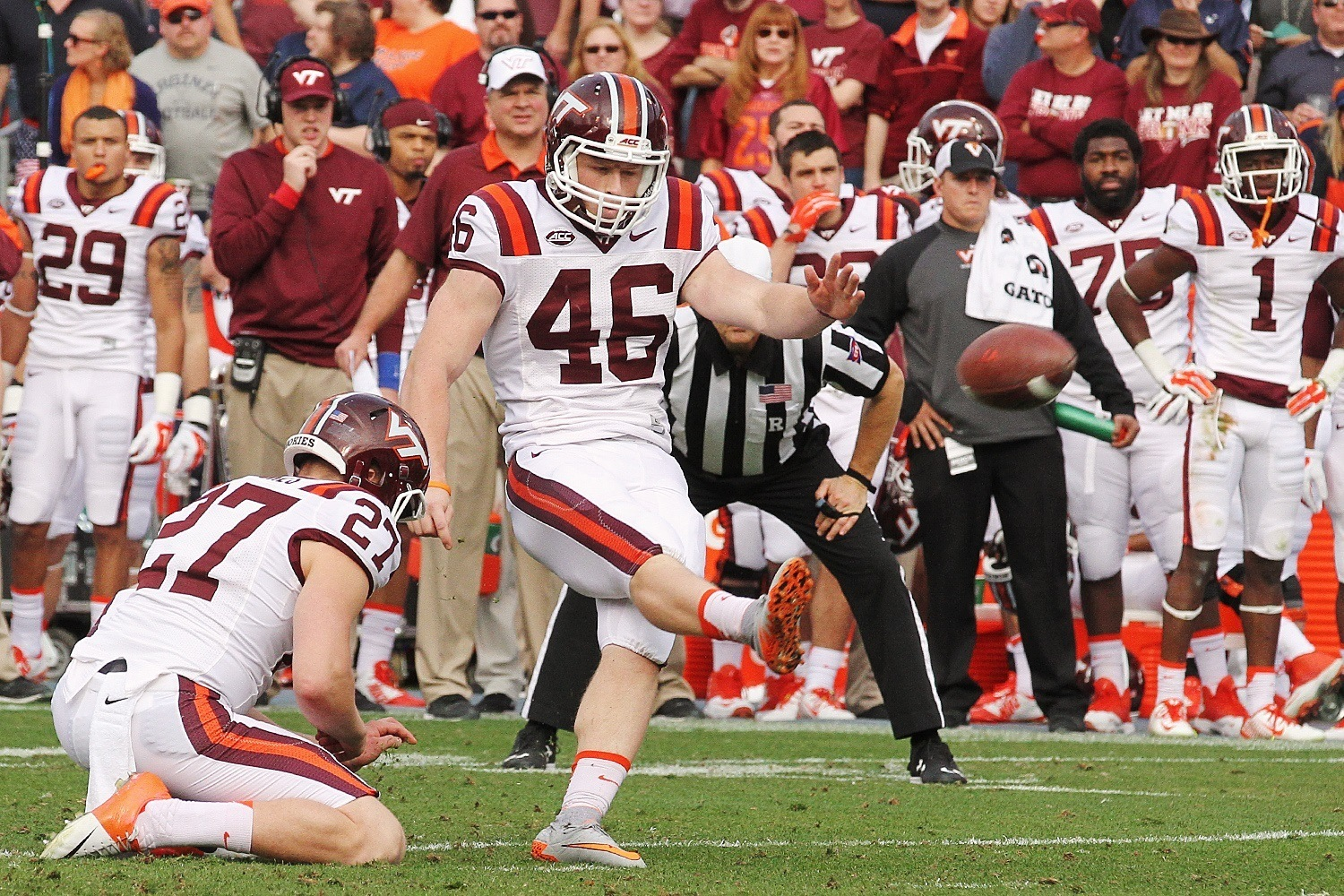 College Football Week 13 Winners 2015 ncaa joey slye bulge images