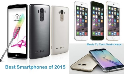 Hottest Top 3 Smartphones of 2015