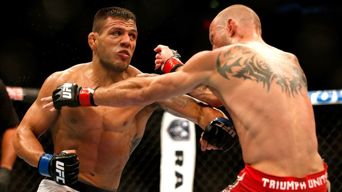 MMA Weekly Rafael dos Anjos Dominates 2015 ufc images