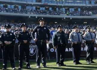 NFL Stadiums and Off Duty Cops 2015 images