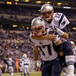 New England Patriots' Tom Brady & Rob Gronkowski MIA