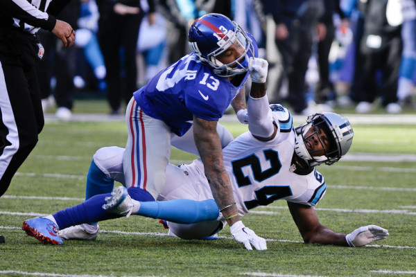 watch Odell Beckham Jr Josh Norman Both Need Pacifiers 2015 images