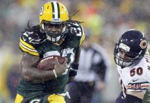 Packers Eddie Lacy is Blowing It 2015 images nfl