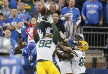 Packers Epic Comeback aided by Phantom Facemask 2015 nfl images