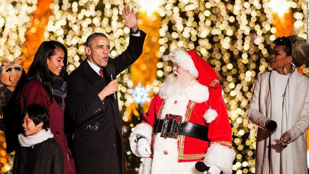 President Obama VP Joe Biden Unveil holiday playlist 2015 gossip