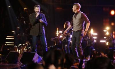 The Voice 926 Live Finales Kicking It 2015 blake bulge shelton images