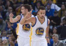 as the egos grow stephen curry klay thompson 2015 nba images