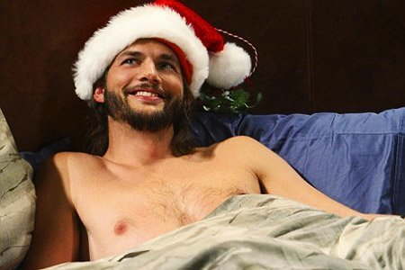 ashton kutcher sexy celebrity santas 2015