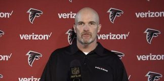 atlanta falcons head coach Dan Quinn Sounding Worn Down 2015 images