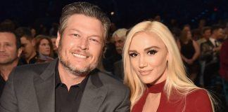 blake shelton with gwen stefani real relationship outside voice