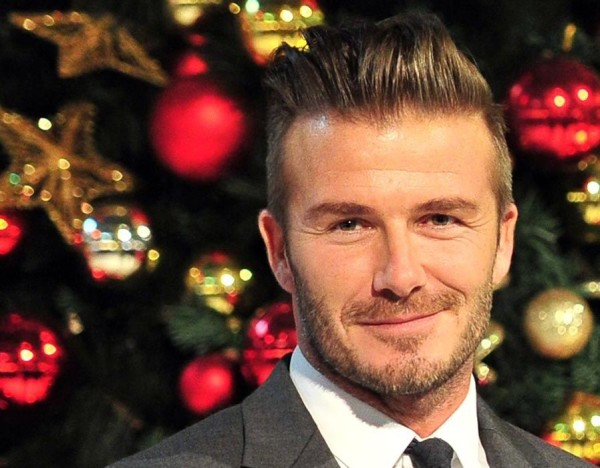 david beckham sexy santa 2015 images