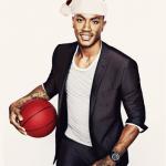 derrick rose sexy male santa celebrity