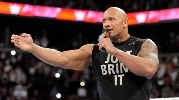 dwayne johnson back to rock wrestlemania 2015 gossip