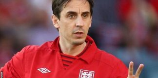 gary neville named valencia head coach 2015 soccer images