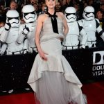 gwendoline christie star wars premiere force awakens 2015