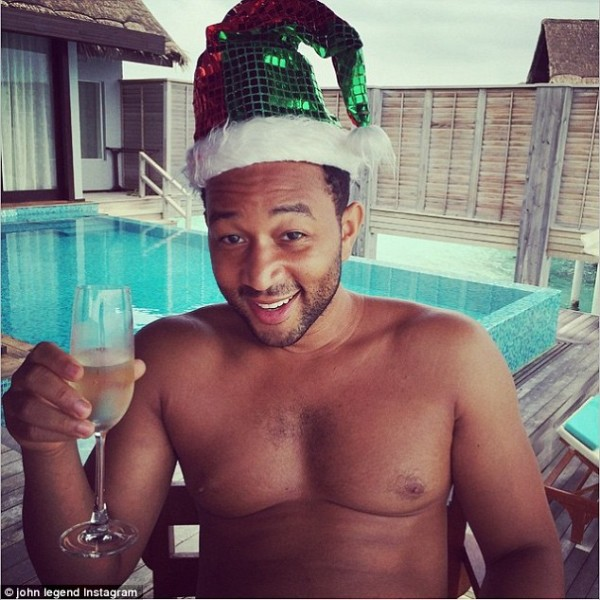 john legend sexy bulge santa 2015 images
