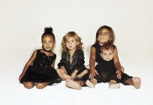 kardashian christmas card goes for cute over camp 2015 gossip
